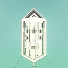 A Tumblr dedicated to mirrored buildings.