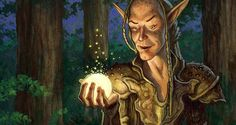 Art from Magic: The Gathering card, by 'Spiderwick' creator Tony DiTerlizzi