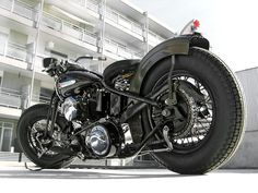1937 Harley-Davidson bobber by Customs from Jamesville