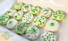 st. patty's day chocolate dipped oreo's