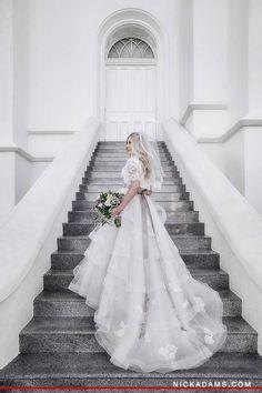 Alta Moda bride Jordan in a dress by Anne Barge   Image by Nick Adams