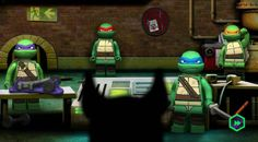 Lego TMNT Ninja Training game online