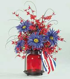 4th of July centerpiece craft