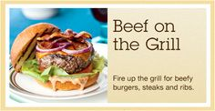Beef on the Grill Recipe Collection