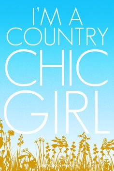 I'm a #CountryChic girl! #BBWgirl