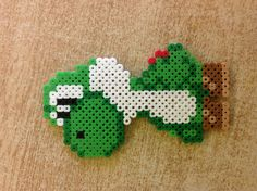 Yoshi perler beads by Amanda Collison