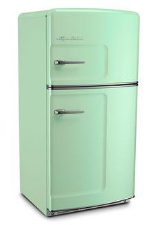 Jadite Green Retro Refrigerator by Big Chill