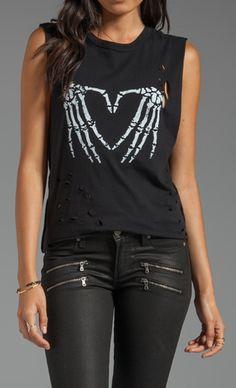 Skeleton Heart T