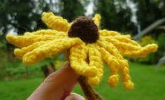 Crochet Pattern for Rudbeckia – Black-eyed Susan