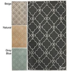 @Overstock - Cozy and contemporary, this handmade trellis rug will look fantastic in your home or office. Available in a variety of stylish colors and made of synthetic fiber, this rug is visually striking and easy to clean. A 0.40-inch pile makes this rug durable.http://www.overstock.com/Home-Garden/Handmade-Luna-Easy-Care-Trellis-Rug-5-x-8/6437636/product.html?CID=214117 $143.09