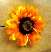 EL Wire Sunflower, might be a good addition to a hat