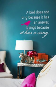 Wall decal from Trading Phrases