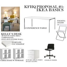 KFHQ PROPOSAL #1: IKEA BASICS, created by courtchase.polyvore.com