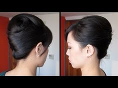 "This is how you do a very elegant french twist on hair that is long, thick, straight and/or heavy and normally wants to fall down when it is put into an updo.  Perfect for proms or weddings!    Tools needed: round brush, teasing brush, curling iron (3/4"" to 1"" barrel), 10-15 bobby pins, hair tie, hairspray, and a hair product like mousse, gel or p..."