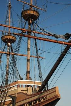 The Mayflower Ship .The Mayflower passenger list is interesting to study. It is amazing that 102 determined pilgrims left all they had to come to America to begin a new life of freedom.
