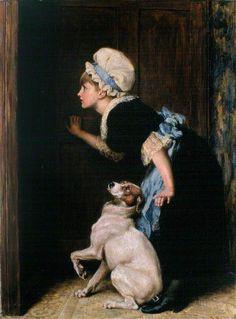 Briton Riviere. English (1840 – 1920)