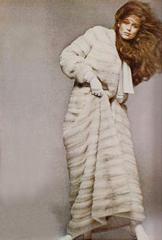 November 1970 Vogue. Lauren Hutton