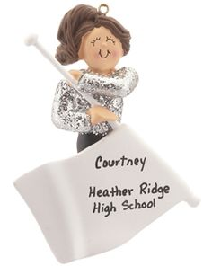 Buy Color Guard - Personalized Dance Christmas Ornaments, Gifts, and Decorations at the Ornament Shop. Over 4500+ items.