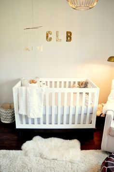 Project Nursery - Rustic and Contemporary Nursery Crib View