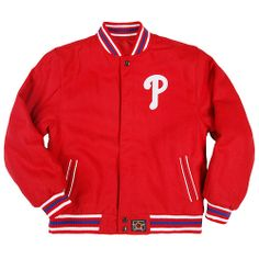 Philadelphia Phillies Youth Wool Reversible Jacket by JH Design - MLB.com Shop