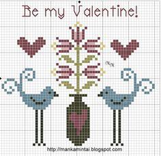 Be my Valentine! free pattern