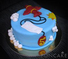 Airplane Cake - Torta de Avión