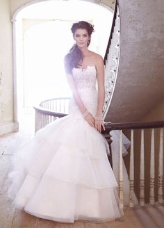 Jim Hjelm Bridal Gowns, Wedding Dresses Style jh8302 by JLM Couture, Inc.