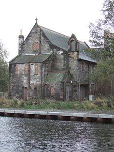 Derelict Kirk, Canal, Edinburgh