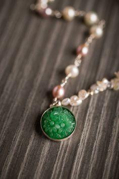 Belle du Jour Pearl Necklace on BourbonandBoots.com