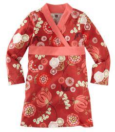 Loving this girls kimono wrap dress from Tea
