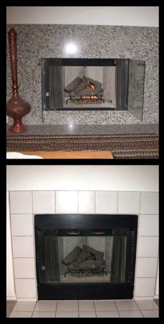 A number of homeowners are investing in a more modern, updated look. Check out these fireplace remodels.