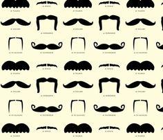 "mustache party, pattern, mustach bash, fun fabric, moustach fabric, i ""mustache"" you a question, moustaches, mustach fabric, parti"
