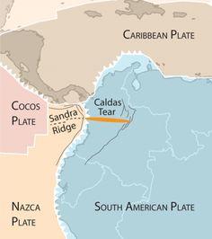 Slab tear explains perplexing Colombian earthquake activity   EARTH Magazine
