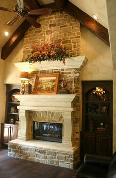 I want this fireplace!
