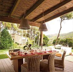 Terraza r stica on pinterest - Terrazas rusticas ...