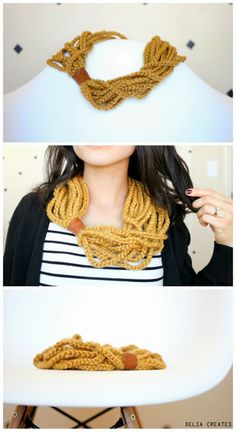 DIY: scarf of a thousand chains