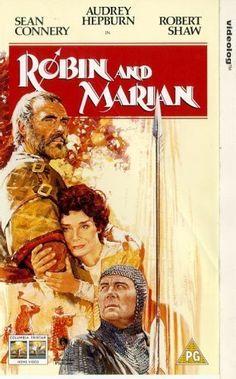 """ROBIN AND MARIAN"" (1976) SEAN CONNERY, AUDREY HEPBURN, ROBERT SHAW"