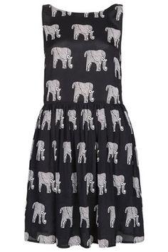 ELEPHANT LADDER BACK DRESS. I. Need. This.