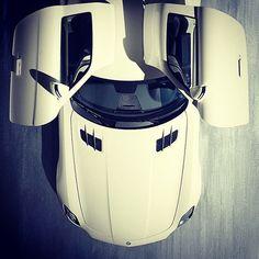 Cool shot of an Mercedes Benz SLS AMG