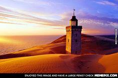 Jutland Lighthouse~Denmark