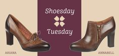 This month's #ShoesdayTuesday asks: Zippers or laces? Vote for the Annabell or Ariana today to receive an exclusive 25% off the shoe that gets the most votes!