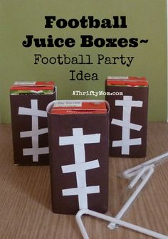 football juice boxes