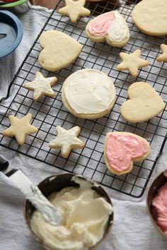 No-Chill Sugar Cookies: Perfect cut-out sugar cookies maintain their shape and don't require any chill time. Plus, use any flavor extract to flavor your cookies however you like!