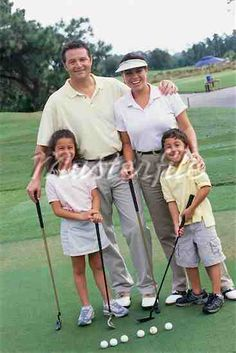 Golf family pictures