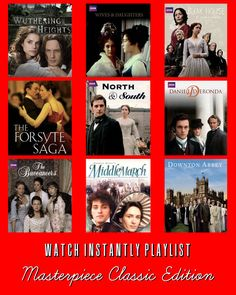 9 Masterpiece Classic Netflix Watch Instantly Selections #masterpiecetheater