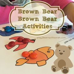Brown Bear Brown Bear Activities