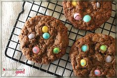 Lick The Bowl Good: Chocolate Monster Cookies from Baking Basics and Beyond