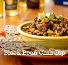 Black Bean Chili Dip | 19 Delicious Vegan Super BowlRecipes