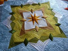 A part of a silk quilt by Margaret Gunn