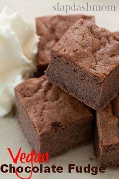 Vegan Chocolate Fudge Recipe